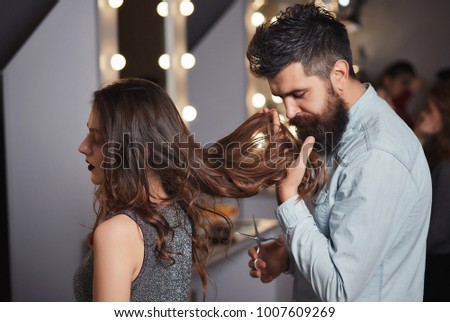 male hairdresser