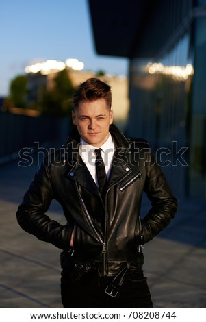 Free Photos Attractive Man Wearing A White Shirt Black Tie And A