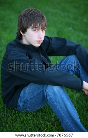 stock photo handsome teen guy model seated in grass 7876567 gisele b ndchen baby bump
