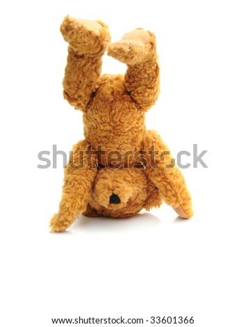 Handstand bear