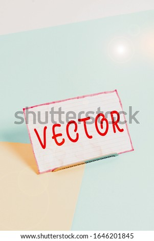 Handwriting text . Concept meaning the nonobjective motif that cannot be described any other way. Paper placed tilted above buffer wire on soft pastel multi colours backdrop. Stock fotó ©