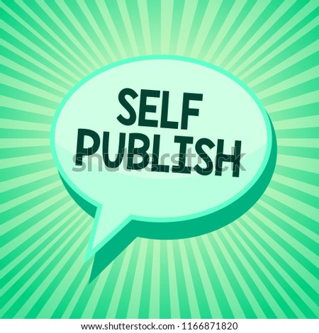 concept meaning published work independently and at own expense indie author