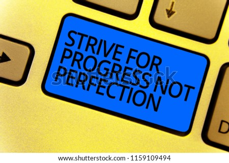 7 Progress not perfection images - Free stock photos on