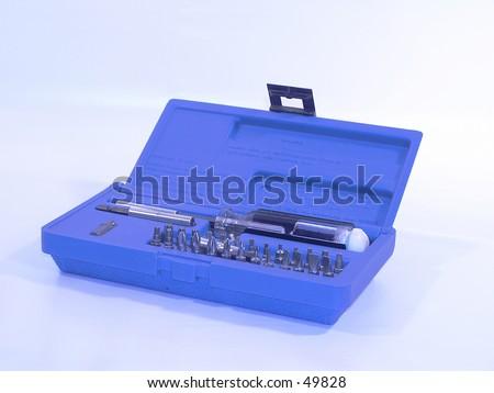 Handy Tool box with warning