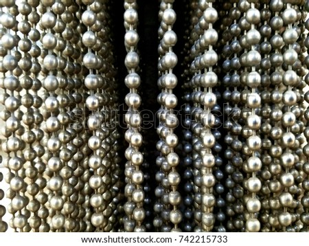 Hanging beads / Industrial #742215733