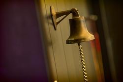 Hanging golden bell