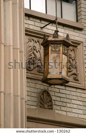 Hanging Lantern - stock photo