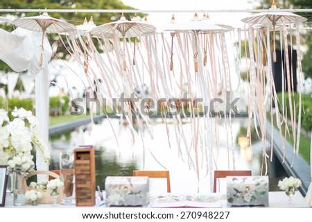 Hanging umbrella wedding decorations wedding my friend 9 April 2015