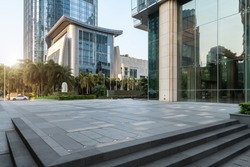 Hangzhou Financial District Plaza Modern Architecture Office Bui