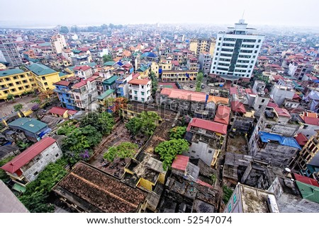Hanoi's high-angle landscapes.