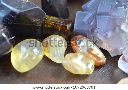 Happiness beautiful Citrine, Non-heat treated. Premium Quality healing crystal tumbled Citrine. Natural Citrine great for High Energy, health and good vibes!