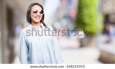 happy asian woman #568214353