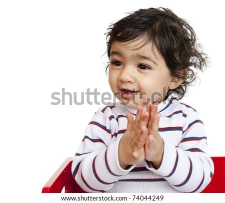 ஈகரை தமிழ் களஞ்சியத்தின் கவிதைப் போட்டி 5 - பரிசுத்தொகை 30,000 ரூபாய்கள் Stock-photo-happy-baby-girl-clapping-hands-isolated-white-74044249