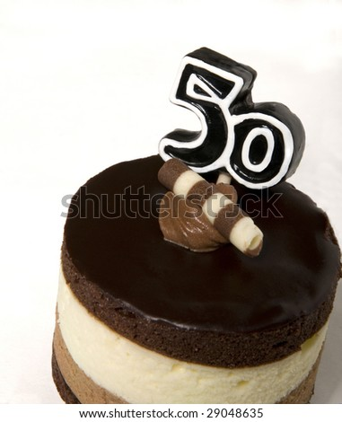 Birthday Cake Images For Special Person : Happy Big 5-0! A Birthday Cake For Special Someone! Stock ...