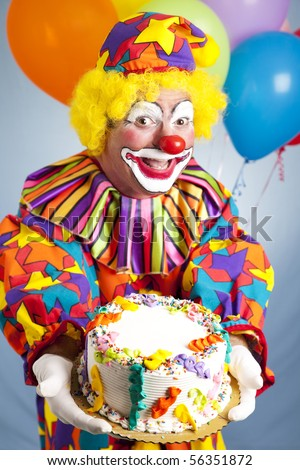 Funny Birthday Clown