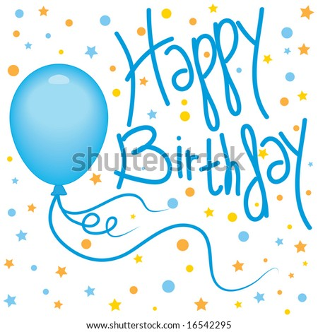 happy birthday pictures clip art. irthday balloons clip art.