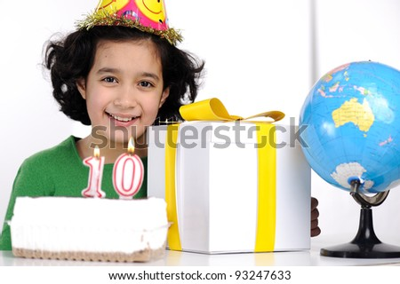 Happy birthday for 10 years old daughter