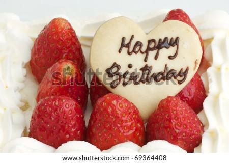 Happy Birthday, Heart Love happy birthday heart cookie on