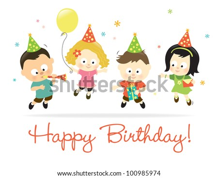 Happy Birthday kids 2 - Jpeg