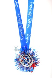 Happy birthday medallion for 30th birthday