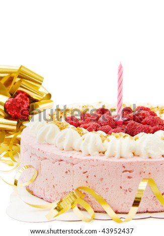 happy birthday cake pink. happy birthday cake pink. Happy Birthday with festive