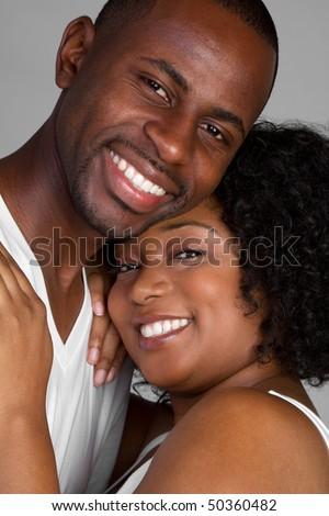 stock photo : Happy Black Couple