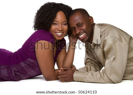 stock photo : Happy Black Couple