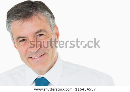 Happy businessman in shirt and tie #116434537