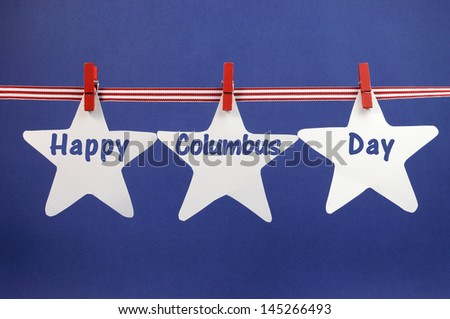 happy columbus day message...