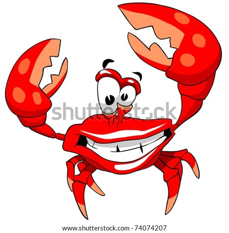 Happy crab.