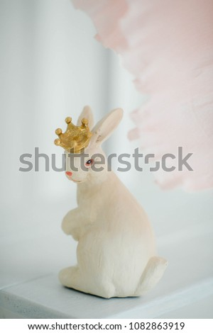 Happy Easter Bunny #1082863919