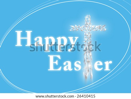 christian happy easter images. stock photo : Happy Easter