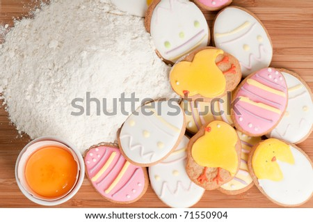 Happy Easter - (home-baked cookies)