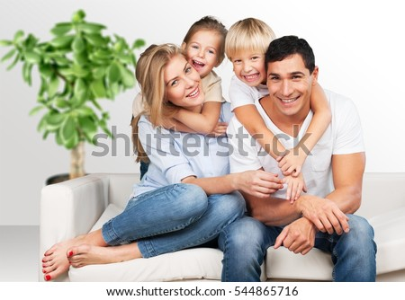 Happy family. #544865716