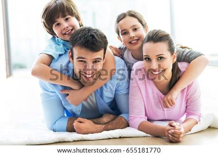 Happy family  #655181770