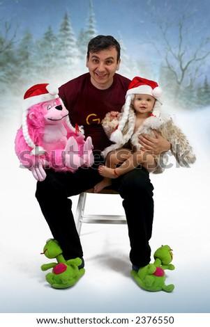 happy family - christmas