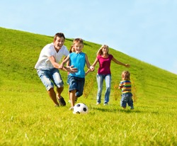 Happy family lifestyle