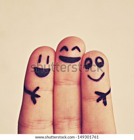 Shutterstock happy fingers