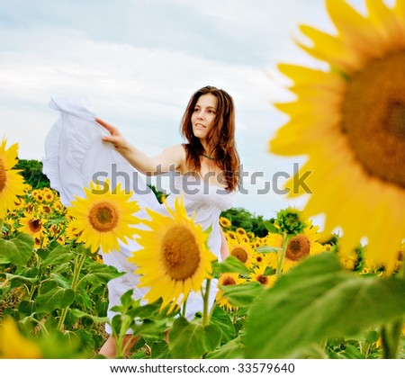 Sunflower Dancing Girls