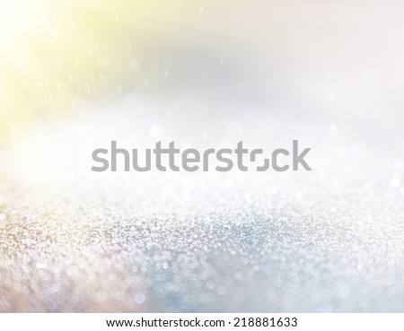 Happy holiday bokeh lights. Illustration background for any objects. - Shutterstock ID 218881633