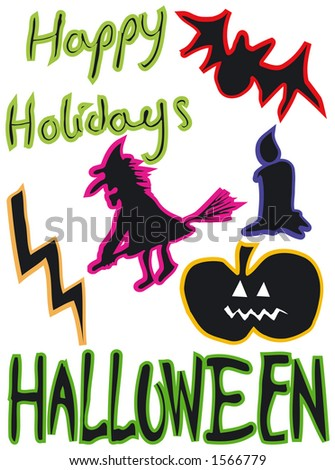 Happy Holidays - halloween designs