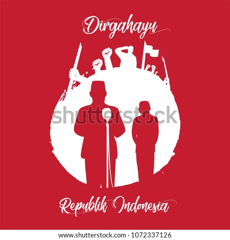 Happy Independence Day Indonesia! Dirgahayu Republik Indonesia  Dirgahayu republik indonesia, Independence day of Indonesia is celebrated on August 17th each year.