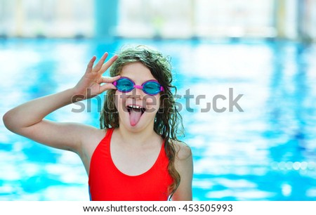 happy kid having fun on summer...