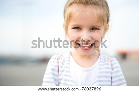 Happy Kids Sister and Brother. Isolated on a white background