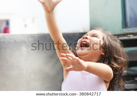 Happy latin kid #380842717