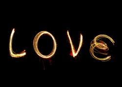 Happy love light, Valentine's Day