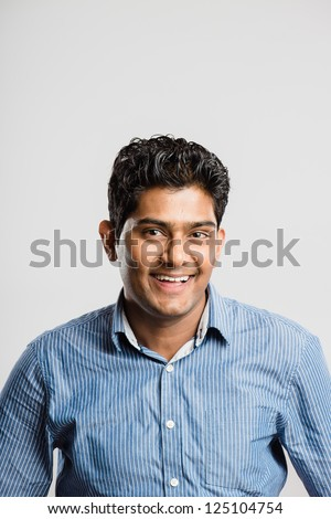 happy man portrait real people high definition grey background