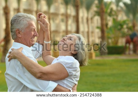 Shutterstock Happy Mature couple in love enjoy vacation