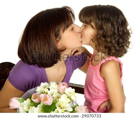 фото мама сдочкой лезбиянки