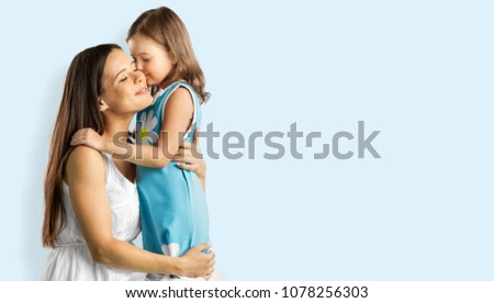 Happy Mother's and child #1078256303